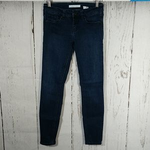 Eunina Mid Rise Skinny Stretch Ankle Jeans